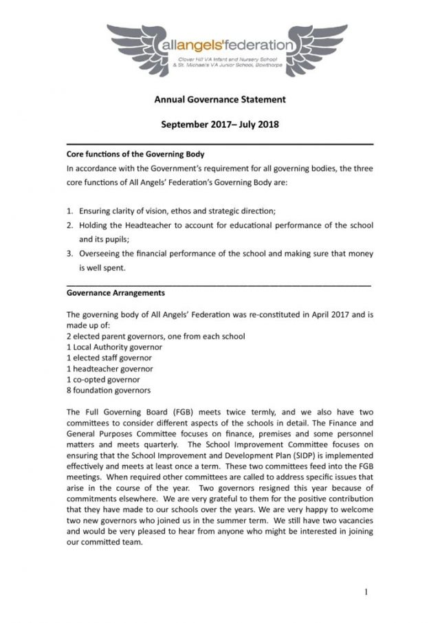 thumbnail of Annual Governance Statement 2017 -2018