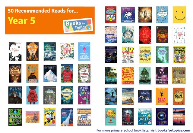 Image result for 50 recommended reads for year 5
