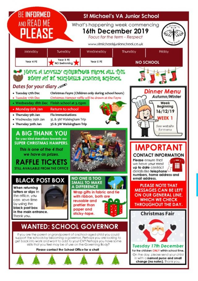 thumbnail of Bulletin 16th Dec 2019